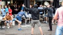 Dreigementen maken geen indruk: Russische en Engelse hooligans opnieuw slaags