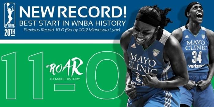 Wauters en Meesseman winnen, Minnesota schrijft geschiedenis in WNBA