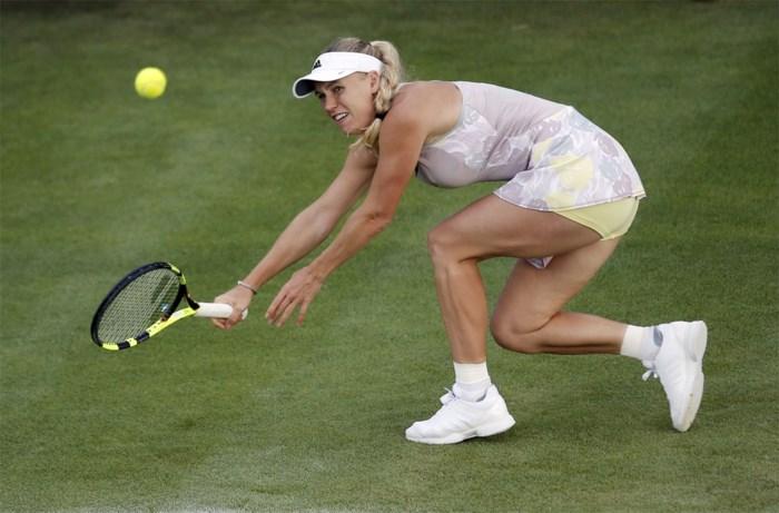 Wickmayer kan partij tegen Wozniacki ook na twee dagen nog niet afwerken