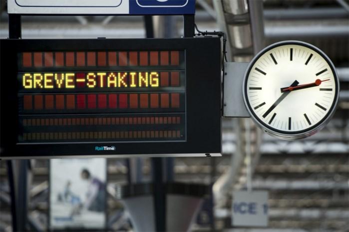 Geen sancties voor spoorstakingen tussen 1 en 3 juni