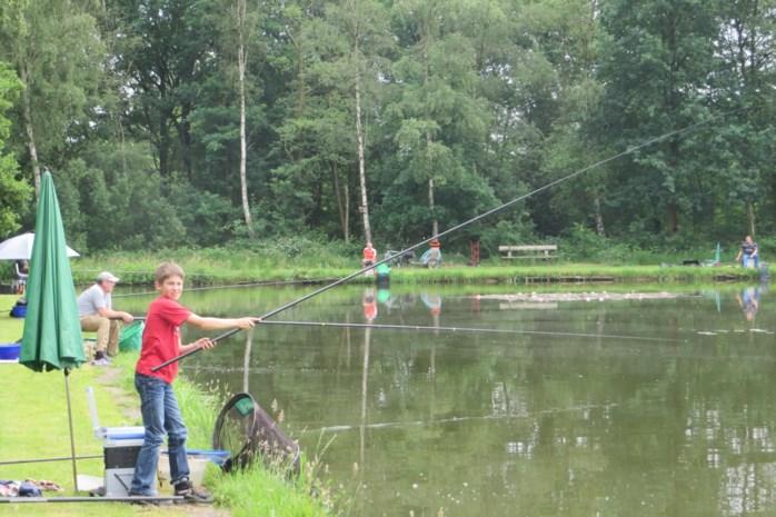 Jong visserstalent aan de slag