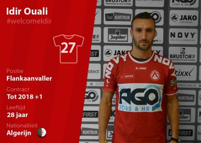 KV Kortrijk haalt winger Ouali terug naar België