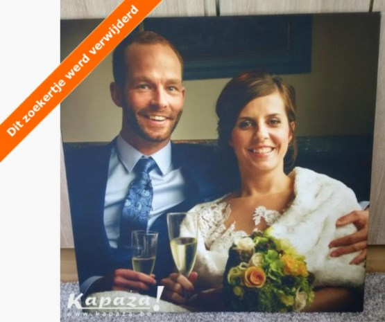 Jonas veilt trouwfoto uit 'Blind Getrouwd' dan toch niet