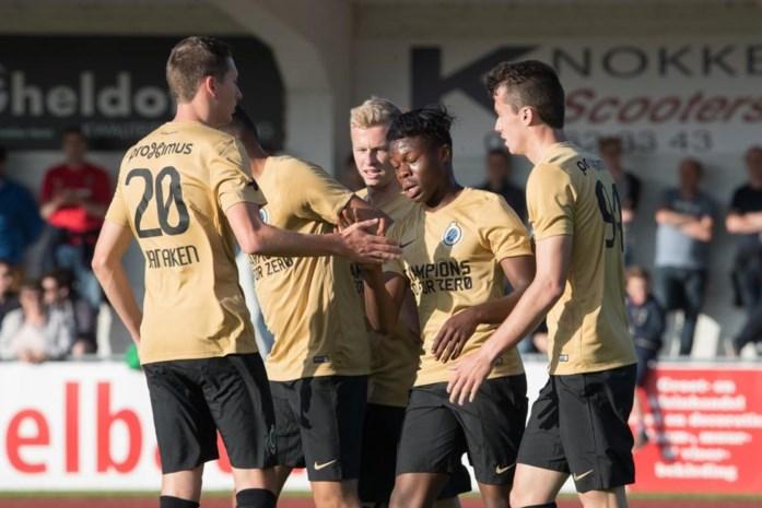 OEFENMATCHEN. Club en Genk winnen eerste match, Raman scoort voor AA Gent