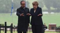 Merkel waarschuwt in Verdun: 'Geen nationaal denken zal ons terugwerpen'