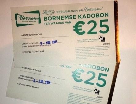 Laatste papieren Bornembons