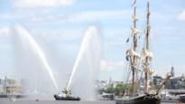 IN BEELD. Het vertrek van de Tall Ships vanop het zeilschip De Nele