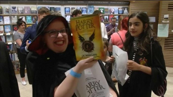 Middernachtopeningen voor 'Harry Potter en het Vervloekte Kind'