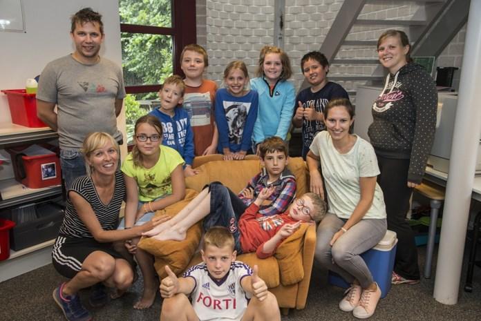 Kinderen met autisme leven zich uit in De Funfabriek