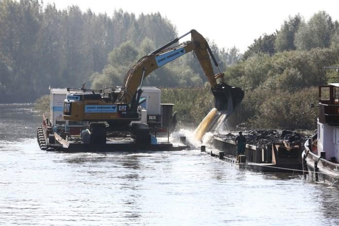 Waterwegen en Zeekanaal wil duurzaam baggeren op Boven-Zeeschelde