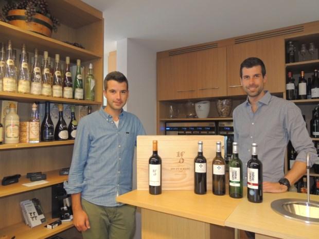 Vijfhonderd flessen wijn voor 20ste verjaardag