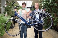 Ilse Van Meel wint fiets dankzij Belgerinkel
