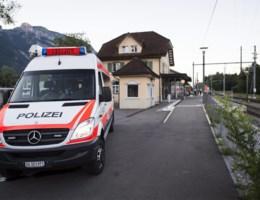 """Aanval op trein in Zwitserland: """"Voorlopig geen aanwijzingen voor terrorisme"""""""