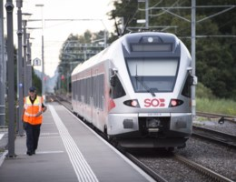 Vrouw (34) overleden aan haar verwondingen na aanval op Zwitserse trein