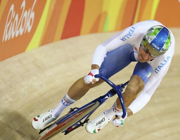 Viviani wint omnium bij de mannen, Cavendish pakt zilver