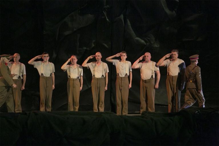 Staande ovatie voor 'Albert I'