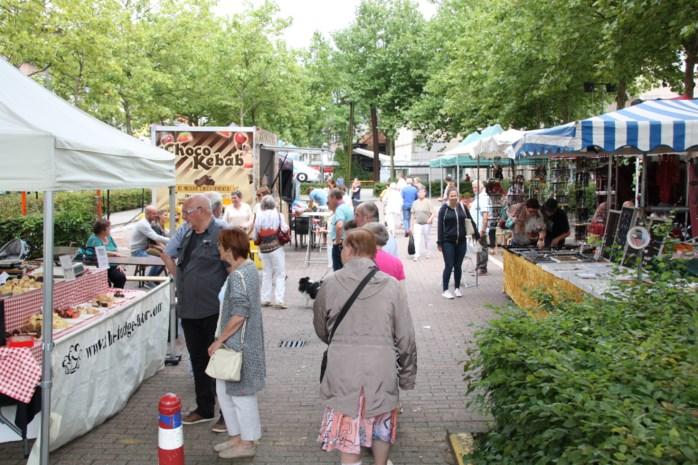Ambachtelijke markt op Moederdag