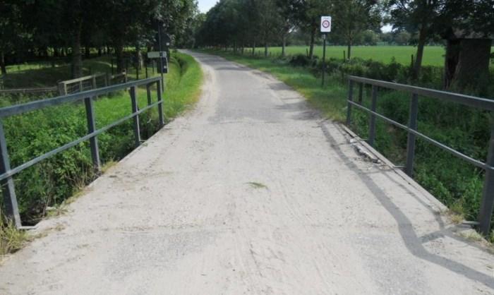 Brug Schoorstraat/Haldijk wordt hersteld