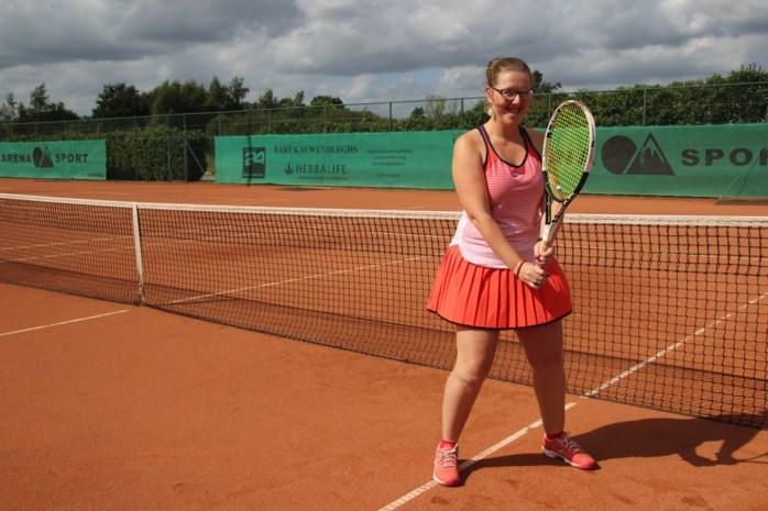 Lies Gielis daagt tennisster Yanina Wickmayer uit