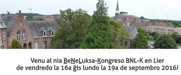 Esperanto-sprekers uit Benelux verzamelen vier dagen in Lier