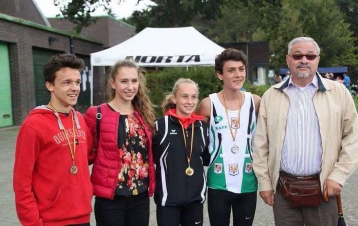 Twee Belgische kampioenstitels voor jeugdige KAPE-atleten