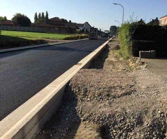 Werken Steenweg op Beerse hebben vertraging