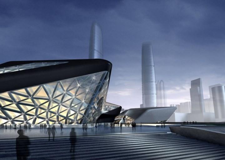Ook deze opvallende ontwerpen zijn van de architecte van het Havenhuis