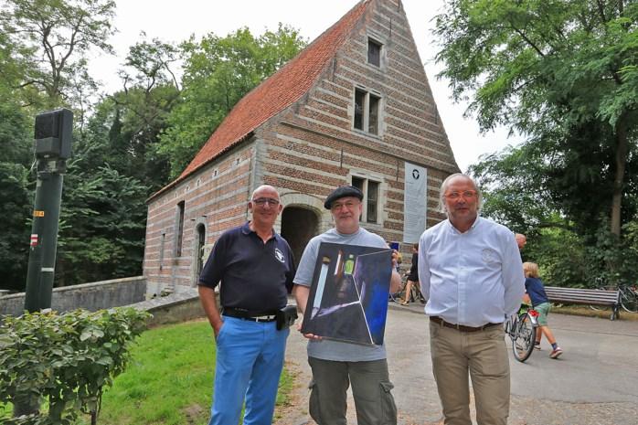 Tonny Coppens wint schilderswedstrijd 500 jaar Spui