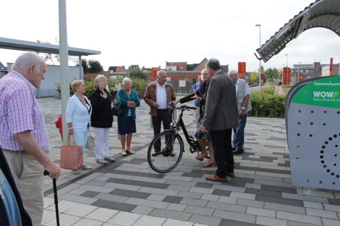 Boomse senioren testen e-bikes uit
