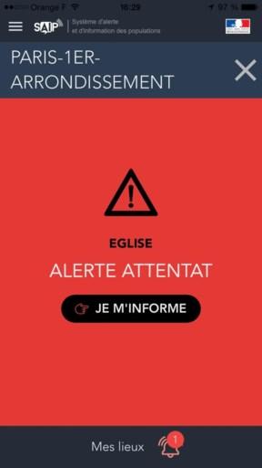 Grote politieactie in Parijs blijkt vals alarm