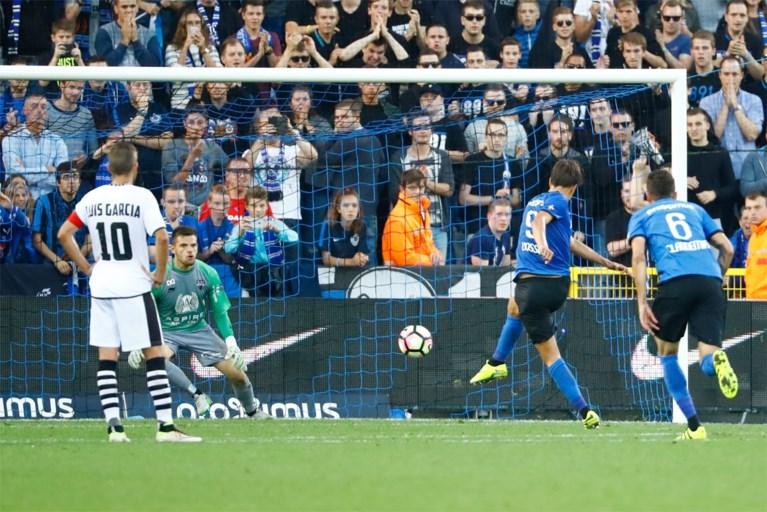 Moeizame zege voor Club Brugge tegen Eupen