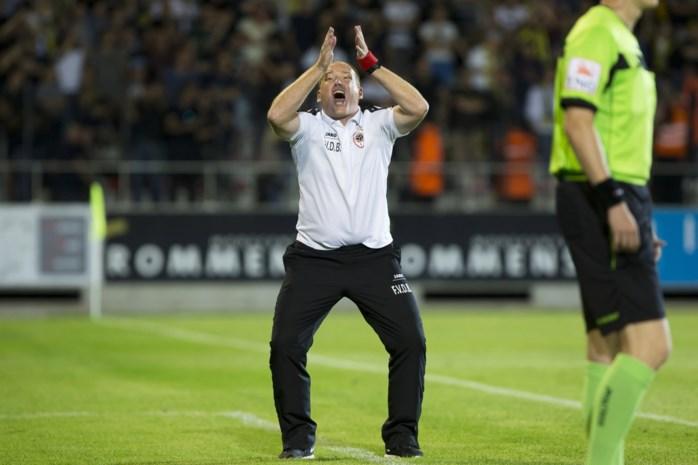 """Antwerpcoach onder druk in 'match van de trainers': """"Dit kán niet blijven duren"""""""