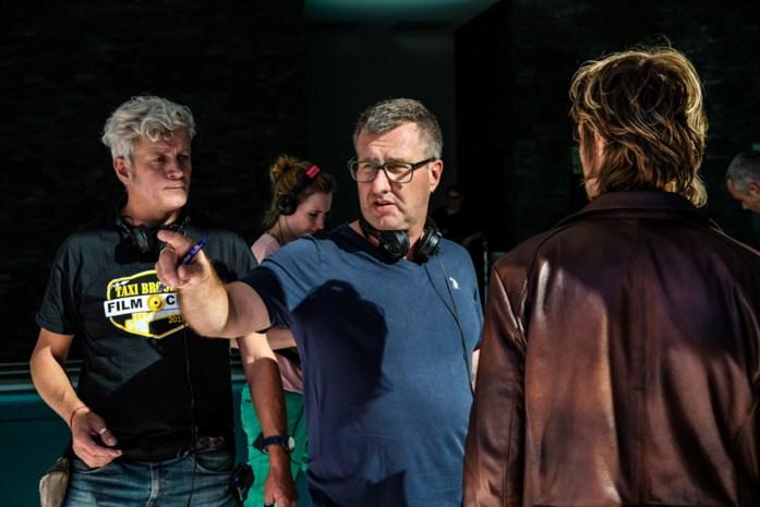 Regisseur Jan Verheyen filmt in Valkenlaan