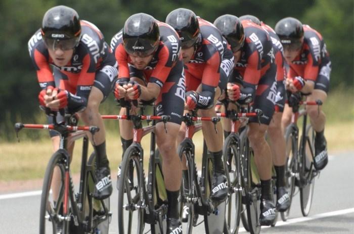 Wereldkampioen BMC waarschuwt Etixx-Quick Step in ploegentijdrit Eneco Tour