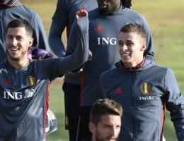 Thorgan Hazard traint niet (en mist de match tegen Bosnië)