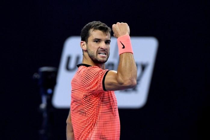 Grigor Dimitrov houdt Rafael Nadal uit halve finale in Peking