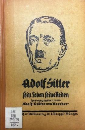 Hitler schreef stiekem zijn eigen biografie onder valse naam