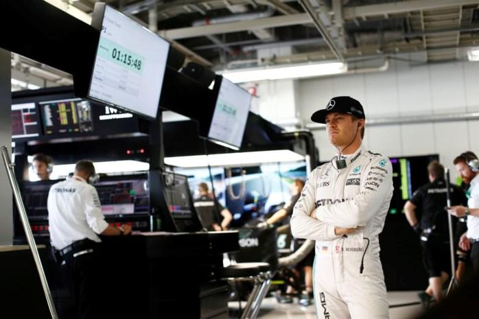 Rosberg ook de snelste tijdens laatste oefensessie in Japan