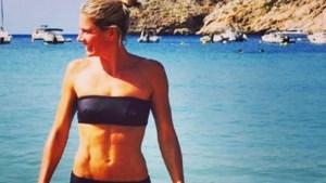 Nathalie Meskens toont afgetraind lijf op Instagram