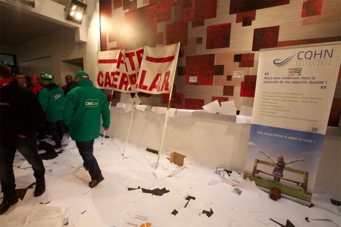 ABVV is kwaad op Agoria na incidenten tijdens betoging