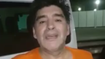 Diego Maradona heeft videoboodschap voor Belgisch publiek
