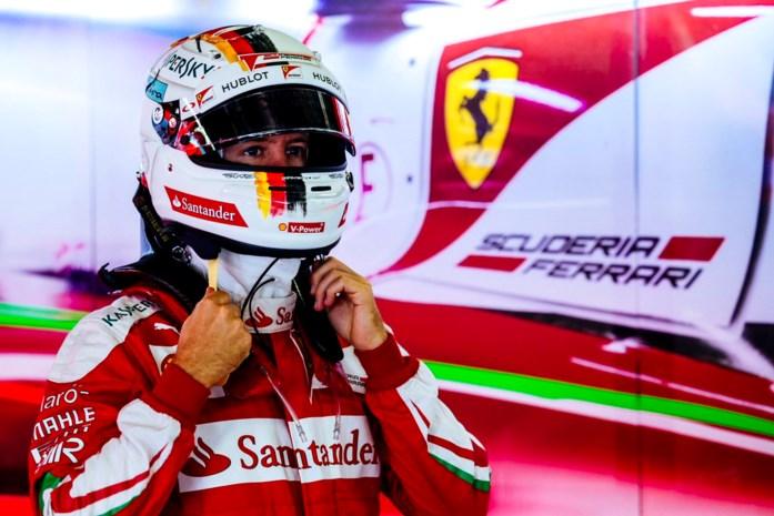 Sebastian Vettel wordt niet bestraft voor grove taal in GP van Mexico