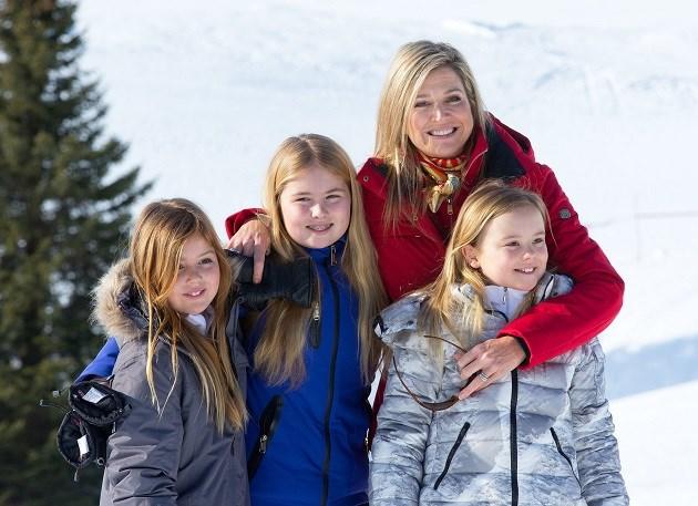 Máxima vindt zakgeld voor haar dochters erg belangrijk