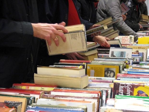 Bib verkoopt boeken voor 11.11.11