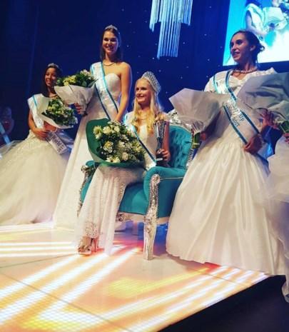 Nathalie Guns wordt knap tweede op Miss Fashion-verkiezing