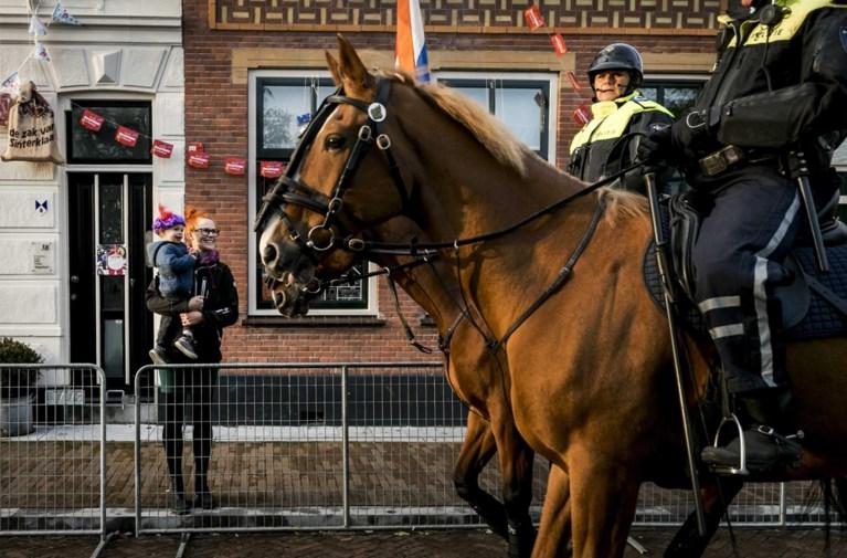 Man met groot kapmes opgepakt bij intocht Sinterklaas in Nederland