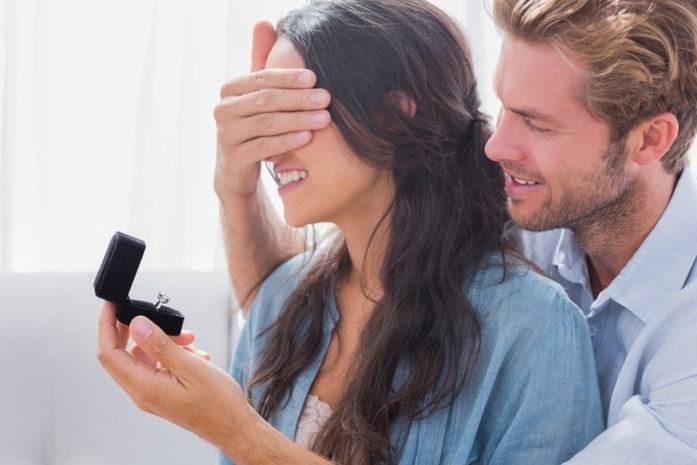 Verlovingsring met diamant steeds minder populair