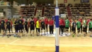 Jonge volleyballers mogen eenmalig proeven van het profbestaan