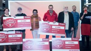 Proficiat! Dit zijn de jurywinnaars van het Grootste Clubhart 2016