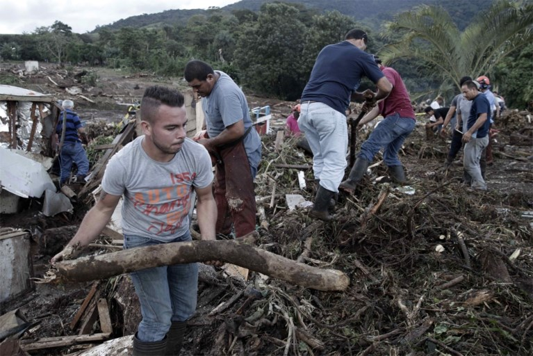 Zeker negen doden door orkaan Otto in Costa Rica